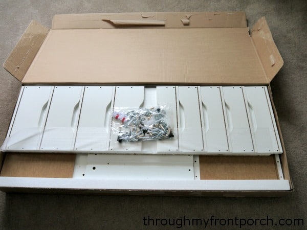 Unassembled drawer boxes series a