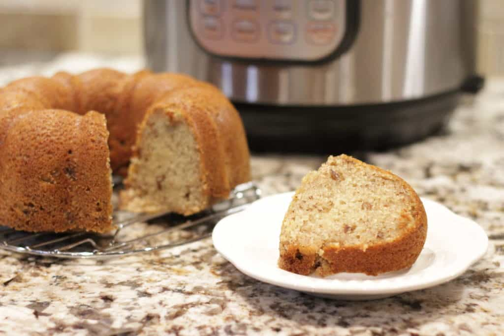 How To Make The Best Instant Pot Banana Bread Through My